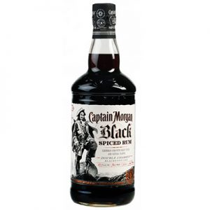 Crafted using only the finest Caribbean rum & select spices, Captain Morgan Black Spiced Rum is finished with double charred blackened oak for a taste as bold as the legendary buccaneer. Blackstrap Rum, Rich Clove Spice and Premium Cassia Bark. Legend has it, the pirates of old stored their high proof rum in charred oak casks in order to give it a smooth mellow taste.