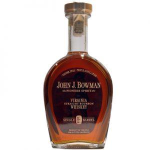 John J. Bowman Virginia Straight Bourbon Whiskey Single Barrel