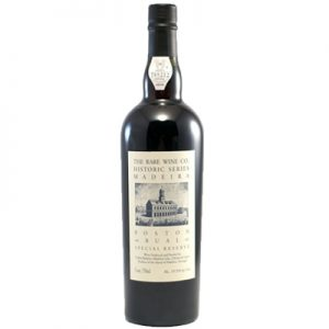 Rare Wine Company Historic Series Boston Bual Madeira