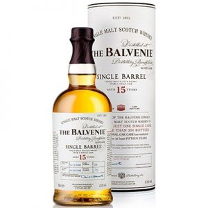 The Balvenie Single Barrel 15yr Single Malt Scotch