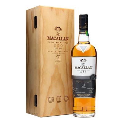 Macallan 21yr Single Malt Scotch