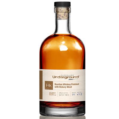 Cleveland Underground Bourbon Whiskey Finished with Hickory Wood