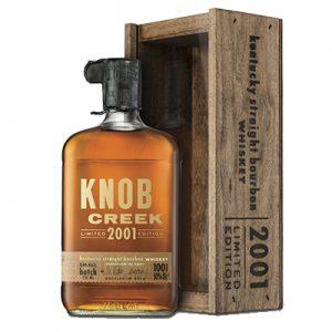Knob Creek 2001 Limited Edition Kentucky Straight Bourbon Whiskey