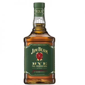 Jim Beam Rye pre prohibition style