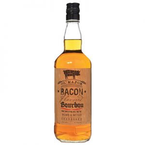 Ol Major bacon flavored bourbon