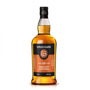 Springbank 10 year old Scotch Whiskey