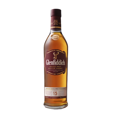 Glenfiddich 15 year old Single Malt Whisky