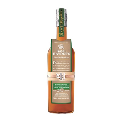 Basil Haydens Two by Two Rye Whiskey