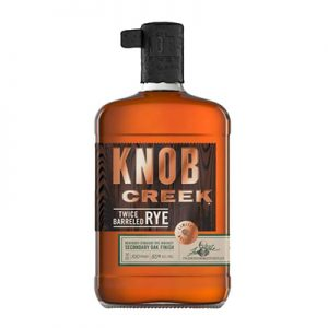 Knob Creek Twice Barreled Straight Rye Whiskey