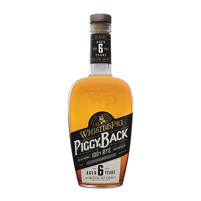 WhistlePig Piggyback Rye 6 years Whiskey