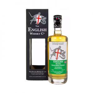 The English Whisky Co Peated Single Malt