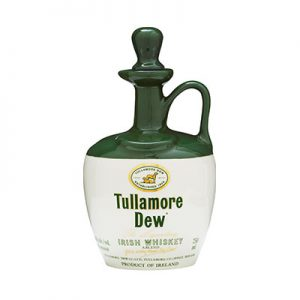 Tullamore Dew Ceramic Jug Irish Whiskey