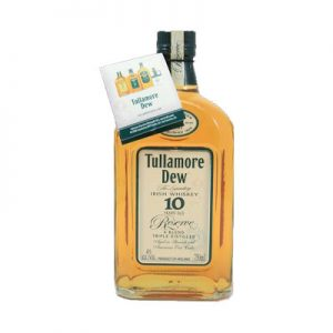 Tullamore Dew Irish Whiskey 10 years